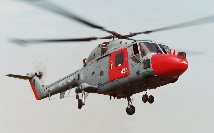 HMS Endurances Westland Lynx HAS mk 3 ICE circa 1993