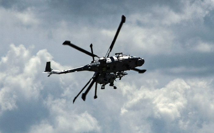 The Black Cats operated a pair o Lynx HMA mk 8 helicopters during 2007