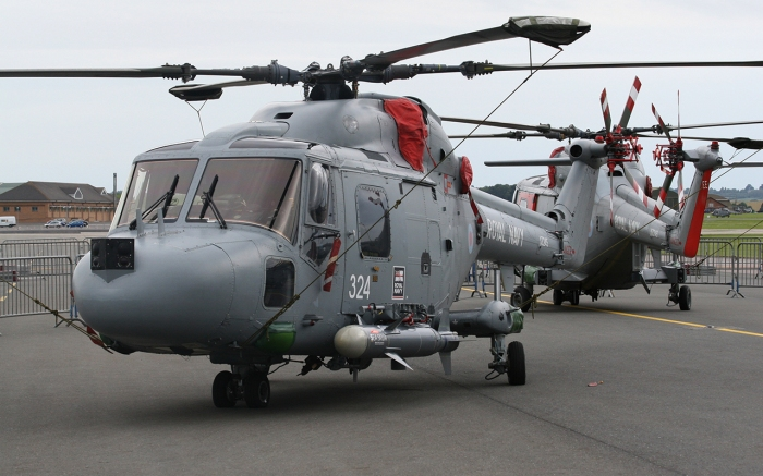 Lynx HAS 3 with Sea Skua ASM at RNAS Yeovilton