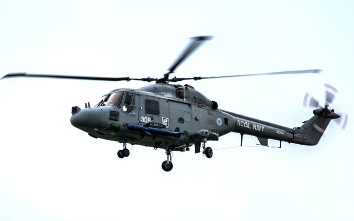Westland Lynx HAS mk 3 with Sea Skua ASM
